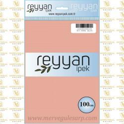 013 Reyyan İpek (PUDRA AÇIK) 100 cm Düz Kokulu Poşetli Yazma