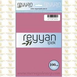 021 Reyyan İpek (K.GUL KURUSU) 100 cm Düz Kokulu Poşetli Yazma
