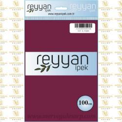 024 Reyyan İpek (K.VİŞNE) 100 cm Düz Kokulu Poşetli Yazma