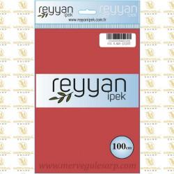 031 Reyyan İpek (K.NAR ÇİÇEĞİ) 100 cm Düz Kokulu Poşetli Yazma
