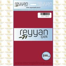 034 Reyyan İpek (K.KIRMIZI) 100 cm Düz Kokulu Poşetli Yazma