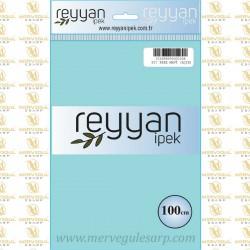 057 Reyyan İpek (BEBE MAVİ AÇIK) 100 cm Düz Kokulu Poşetli Yazma