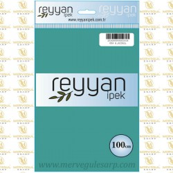 059 Reyyan İpek (A.PETROL) 100 cm Düz Kokulu Poşetli Yazma