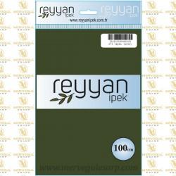 073 Reyyan İpek (YEŞİL KOYU) 100 cm Düz Kokulu Poşetli Yazma