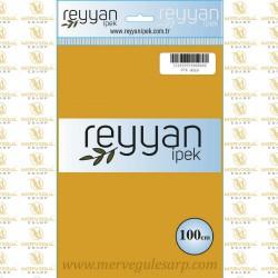 076 Reyyan İpek (GOLD) 100 cm Düz Kokulu Poşetli Yazma