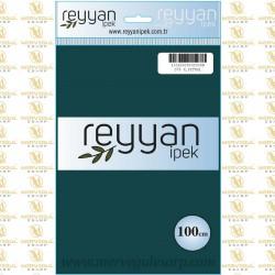 078 Reyyan İpek (K.PETROL) 100 cm Düz Kokulu Poşetli Yazma