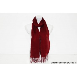 1453-11 ZÜMRÜT COTTON ŞAL